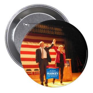 Two Senators, One State 7.5 Cm Round Badge