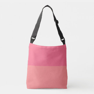 Two Shaded Pink Grapefruit Crossbody Bag