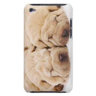 Two Shar Pei puppies sleeping iPod Touch Cover