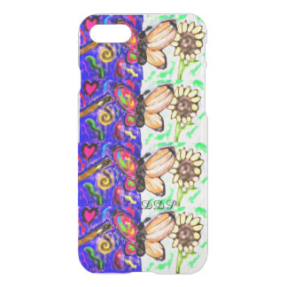 two side butterfly iPhone 8/7 case