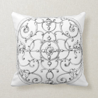 Two side Iron Medallion Pillow