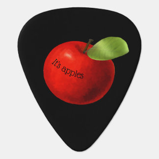 Two-sided Apples and Oranges Guitar Pick