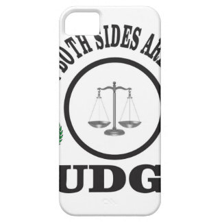 two sides then judge iPhone 5 case