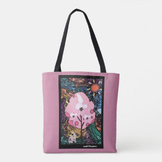 Two sides to every story.... tote bag