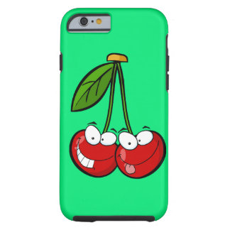 Two silly cherries tough iPhone 6 case