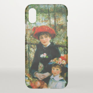 Two Sisters on the Terrace iPhone X Case