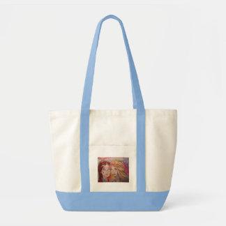 two sisters impulse tote bag