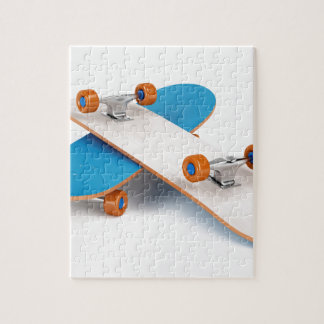 Two skateboards jigsaw puzzle