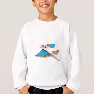 Two skateboards sweatshirt