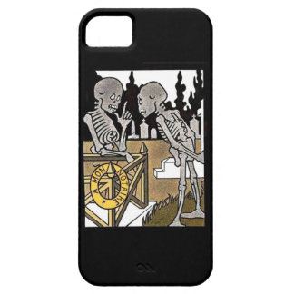 Two Skeletons iphone 5 case