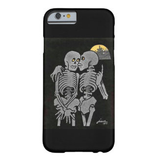 Two Skeletons Talking Barely There iPhone 6 Case