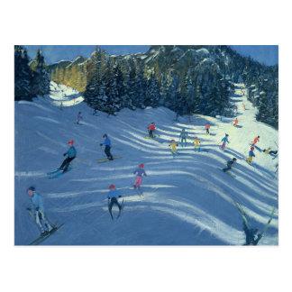 Two Ski-Slopes 2004 Postcard