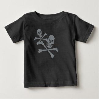 Two Skulls Baby T-Shirt