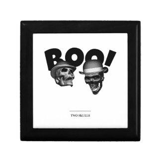 Two Skulls Boo! Gift Box