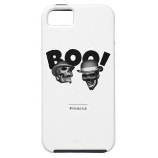 Two Skulls Boo! iPhone 5 Case