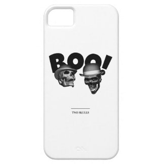 Two Skulls Boo! iPhone 5 Cover