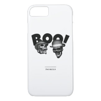 Two Skulls Boo! iPhone 8/7 Case