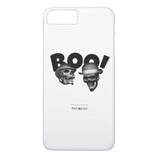 Two Skulls Boo! iPhone 8 Plus/7 Plus Case