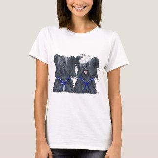 Two Skye Terrier Sailors T-Shirt