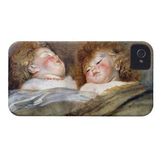 Two Sleeping Children - Peter Paul Rubens iPhone 4 Case-Mate Case