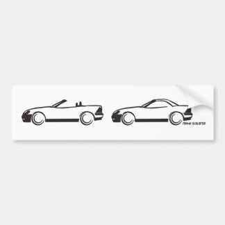 Two SLKs Bumper Sticker