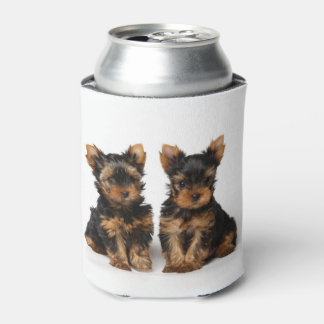 Two small puppies can cooler