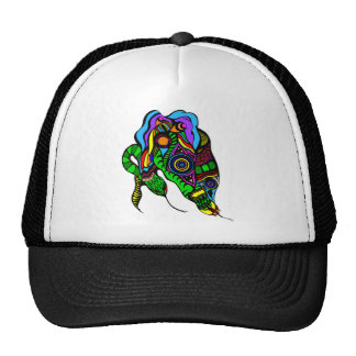 Two Snakes Cap