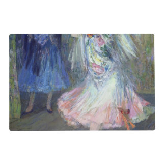 Two Spanish Dancers, 1852 Laminated Place Mat