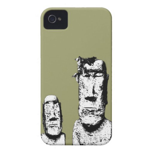 Two Stone Heads (the Eds) Blackberry Bold case