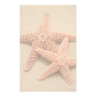 Two Sugar Starfish Customized Stationery