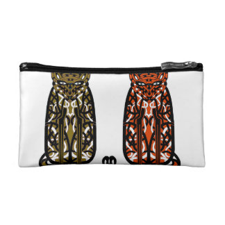two sullen cats makeup bags