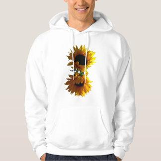 Two Sunflowers Hoodies