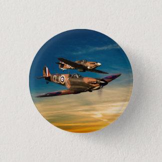 Two Supermarines 3 Cm Round Badge