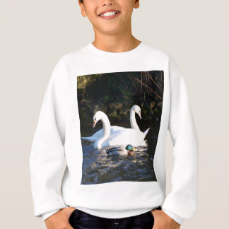 Two Swans And A Duck Sweatshirt