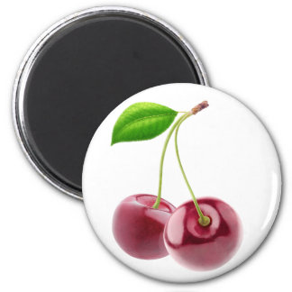 Two sweet cherries magnet