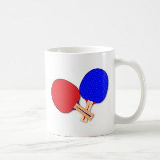 Two Table Tennis Bats Coffee Mug