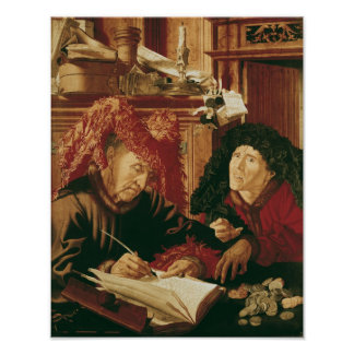 Two Tax Gatherers, c.1540 Posters