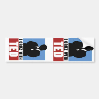 Two Teds are better than one! Bumper Sticker