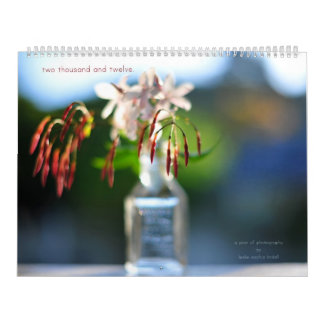two thousand and twelve. calendars