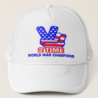 Two Time back to back World War Champs Hats