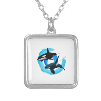 TWO TO CRUISE SILVER PLATED NECKLACE