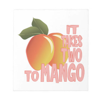 Two To Mango Notepad