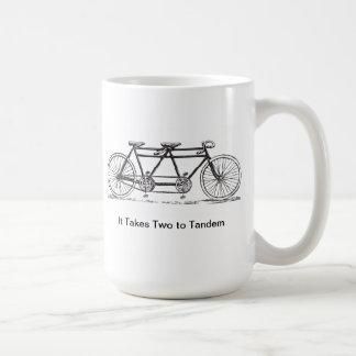 Two to Tandem Coffee Mugs