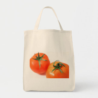 Two tomatoes canvas bag