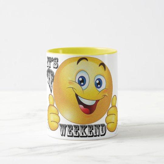 Two-Tone 11 oz Ringer Mug
