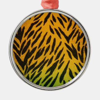 Two Tone Animal Print Ornaments