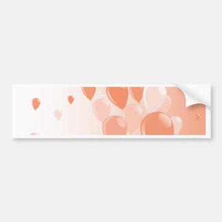 Two Tone Baloons Bumper Sticker