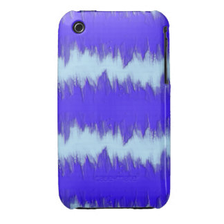 Two Tone Blue Pulse iPhone 3 Covers
