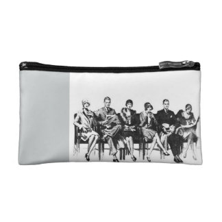 Two-Tone Classy Cosmetic Bag