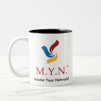 Two Tone Coffee Mug - MYN Logo